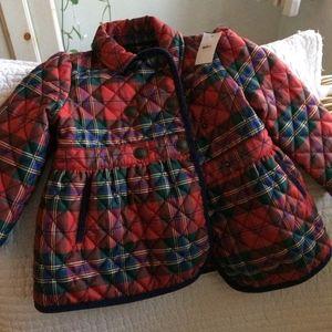 Ralph Lauren Toddler barn coat, Size 24 Months
